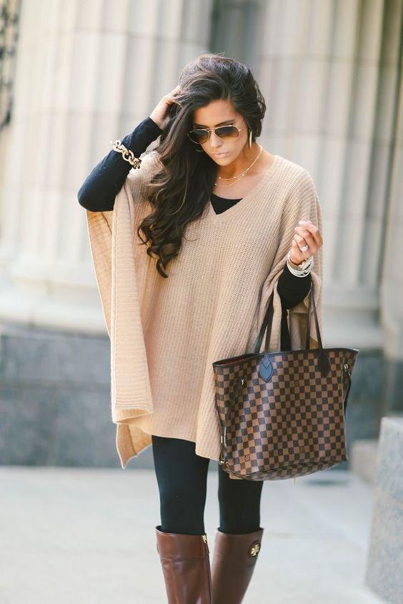 outfits con leggings que necesitas para ir al cine | moda