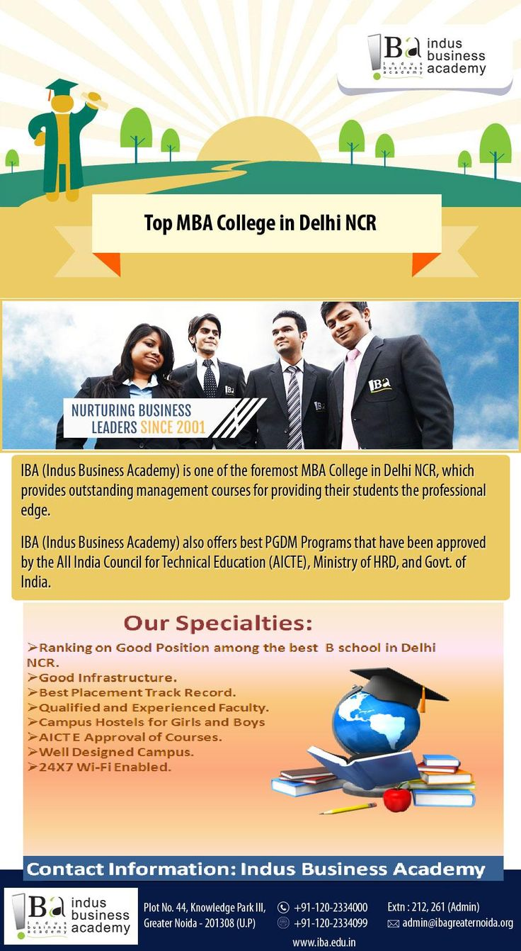 IBA Among the Best Management College in Delhi NCR
