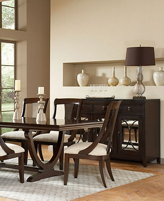 wilton dining room furniture collection furniture macy 39 s for the home pinterest. Black Bedroom Furniture Sets. Home Design Ideas