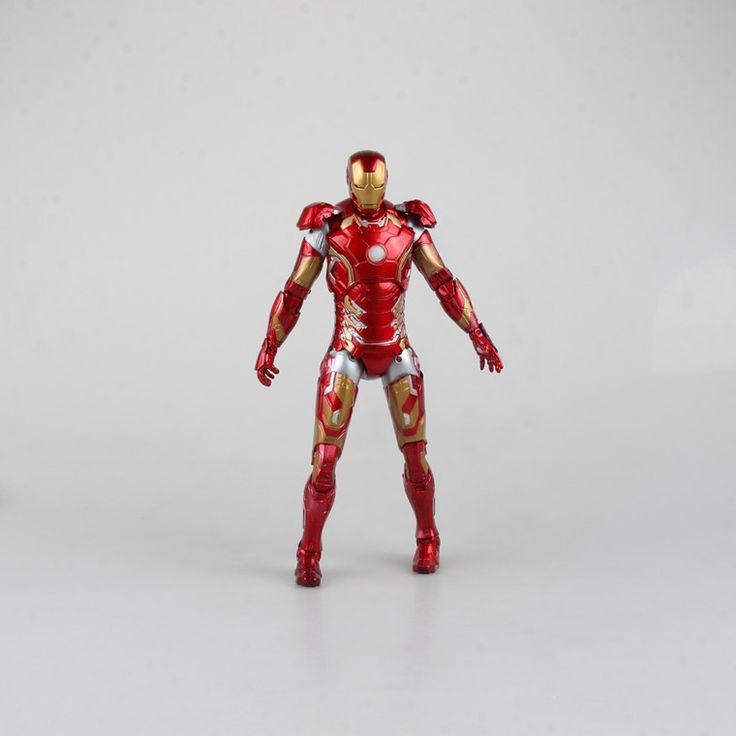 27.25$  Watch here - http://aipmm.worlditems.win/all/product.php?id=32662330267 - The Avengers 2 action figures MK43 luminous 9 inch iron man figures 23CM domestic decoration exquisite models