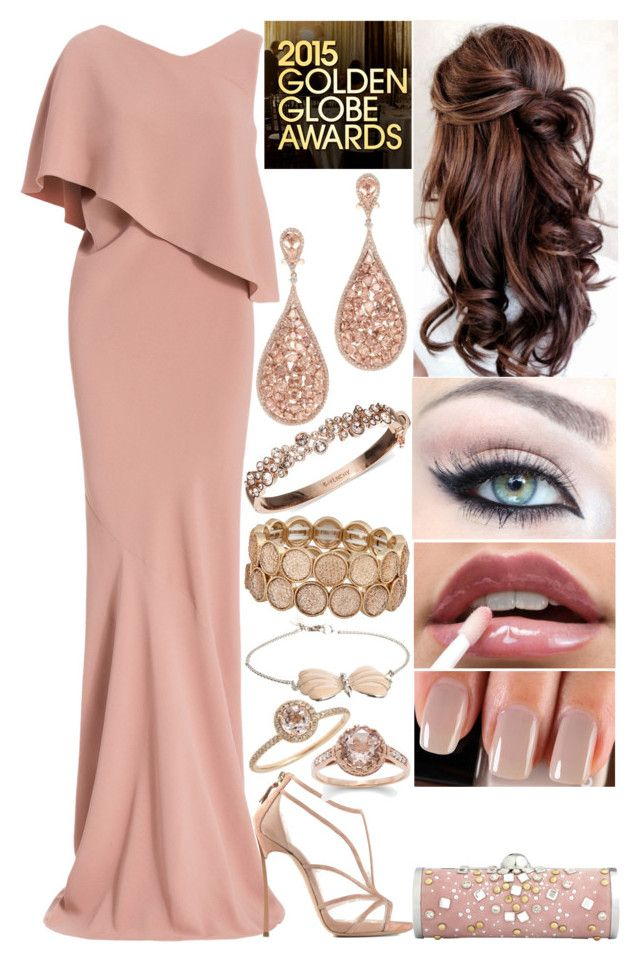 """""""Golden Globe Awards After Party 2015"""" by shama25237 ❤ liked on Polyvore featuring Maria Grachvogel, Casadei, Chanel, Givenchy, ALDO, And Mary and Meira T"""