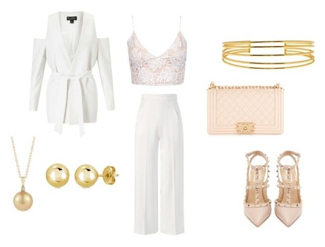 """Red carpet"" by kkerstinolsson on Polyvore featuring Roland Mouret, Miss Selfridge, Chanel, Gorjana, BERRICLE and Valentino"