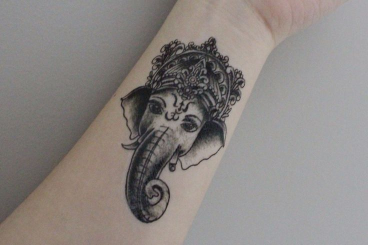 Best 25 tribal elephant tattoos ideas on pinterest for Temporary elephant tattoo