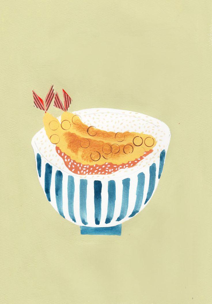 #tempura #rice