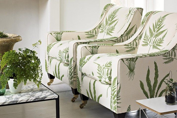 A Painters Garden Fabric Collection (source Sanderson) Fabric Wallpaper Australia / The Ivory Tower