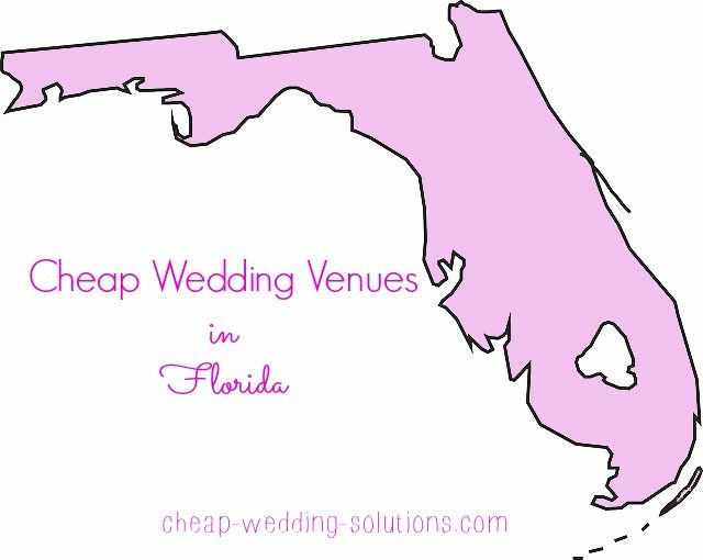 List of cheap Florida wedding venues for your perfect wedding on a budget  http://www.cheap-wedding-solutions.com/florida-wedding-venues.html