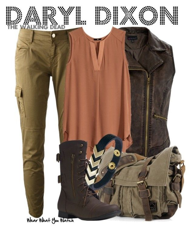 """""""The Walking Dead"""" by wearwhatyouwatch ❤ liked on Polyvore featuring Twin-Set, H&M, Wet Seal, ASOS, television, wearwhatyouwatch and TV"""