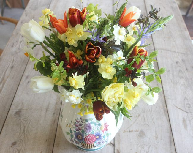 Hand Tied Bouquet of British flowers