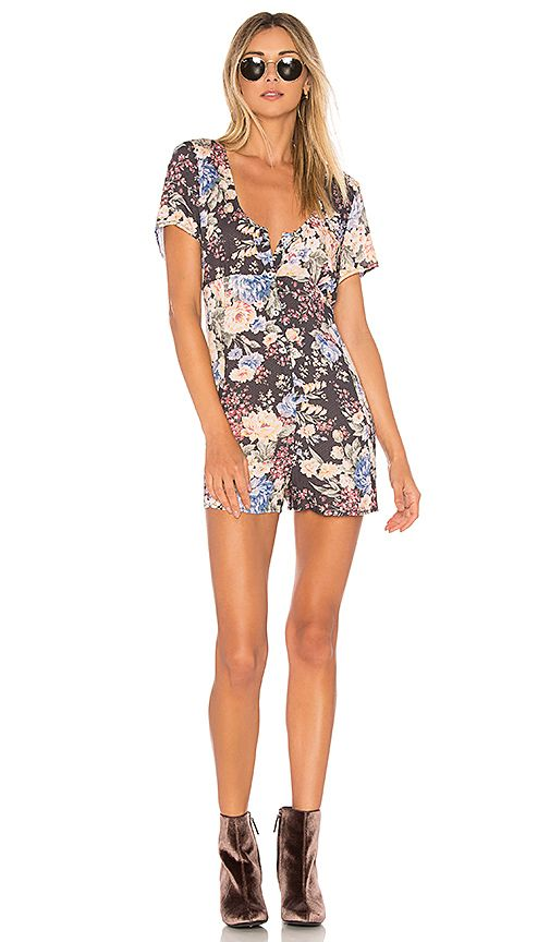 Shop for AUGUSTE Dahlia Button Down Romper in Ink at REVOLVE. Free 2-3 day shipping and returns, 30 day price match guarantee.