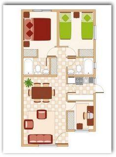 planos de casas pequenas y bonitas