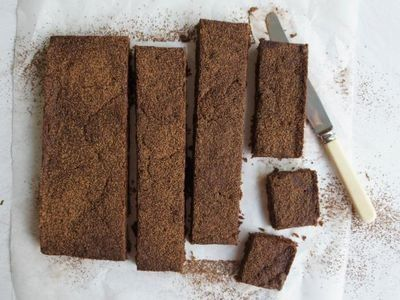 Chewy Chocolate Slice recipe