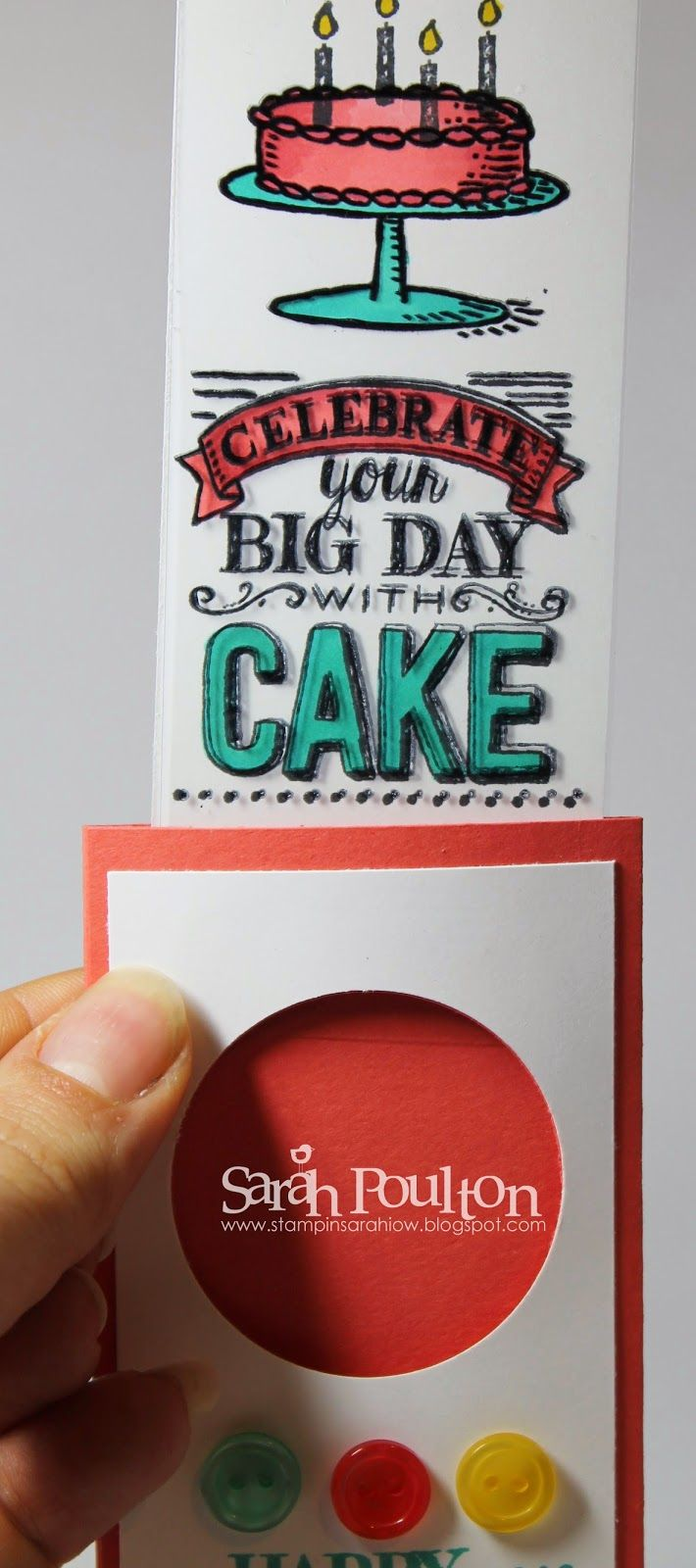 18 best magic color cards images on pinterest greeting cards for stampin sarah pinkies sale a bration 2015 blog hop a magic cardswaterfall kristyandbryce Images