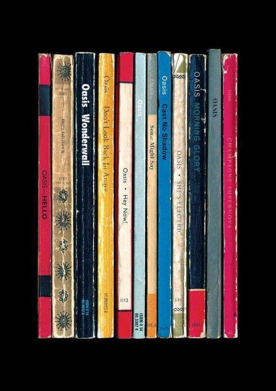 Oasis '(What's The Story) Morning Glory?' Album As Books