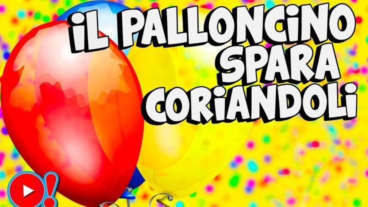 Come fare il palloncino spara coriandoli per Carnevale! Guarda il video...