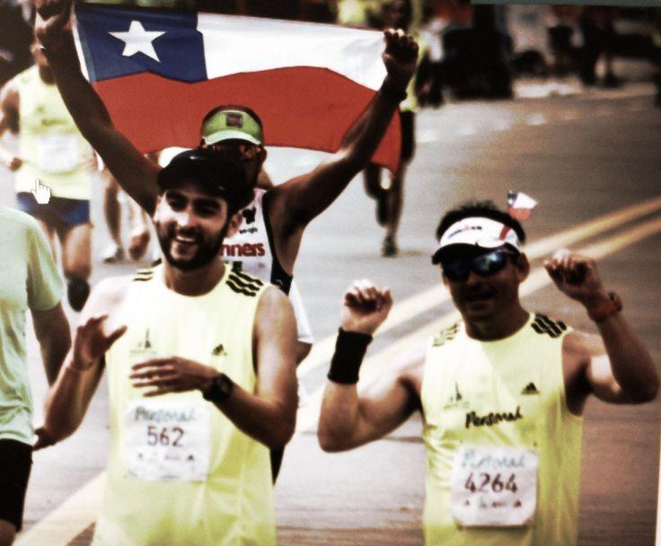 Llegando a la meta, Maratón Buenos Aires 2013
