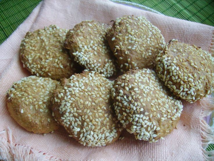 Творожно-овсяное печенье без муки и сахара