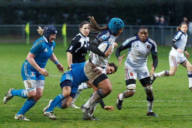 Interview, Safi N'Diaye : « Des jeunes filles viennent s'inscrire dans les écoles de rugby » - GI ALDRI OPP - 15/09/2014