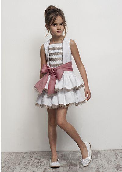 Precioso vestido niña de Tartaleta
