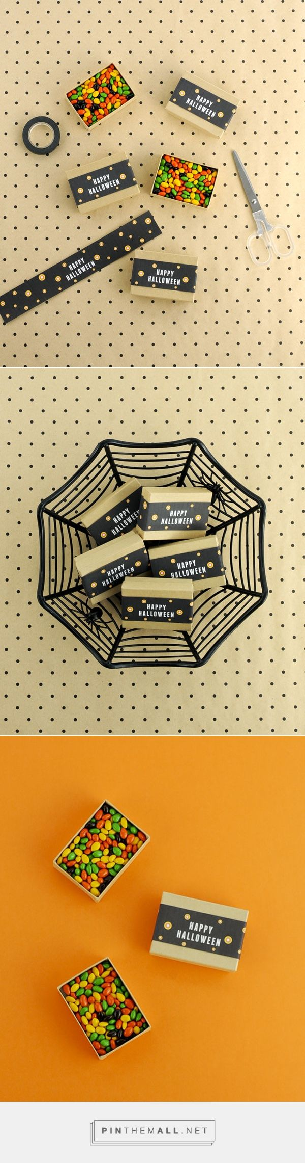 SALLY - HAPPY HALLOWEEN CANDY BOX BAND DIY