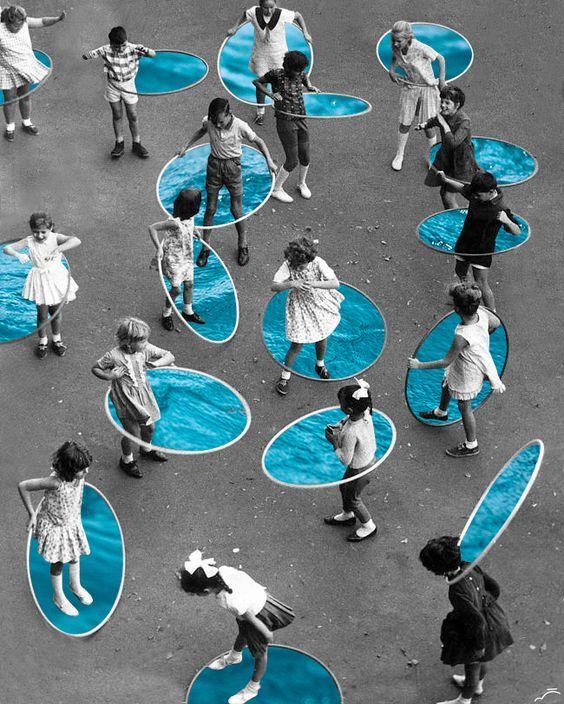 Através de colagens vintage, fotógrafa questiona relação entre natureza e humanidade: http://followthecolours.com.br/art-attack/atraves-de-colagens-vintage-fotografa-questiona-relacao-entre-natureza-e-humanidade/