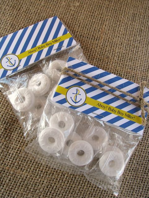 """Photo 25 of 28: Nautical Baby Shower / Baby Shower/Sip & See """"Ahoy, Baby!""""   Catch My Party"""