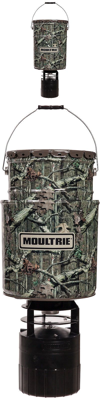 Game Feeders and Feed 52504: Moultrie 6.5 Gallon 360° Pro-Hunter Bucket Style Hanging Deer Feeder With Timer BUY IT NOW ONLY: $62.64