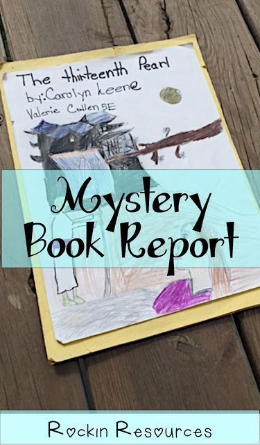 11 Best Mystery Book Project Images On Pinterest Mystery Genre