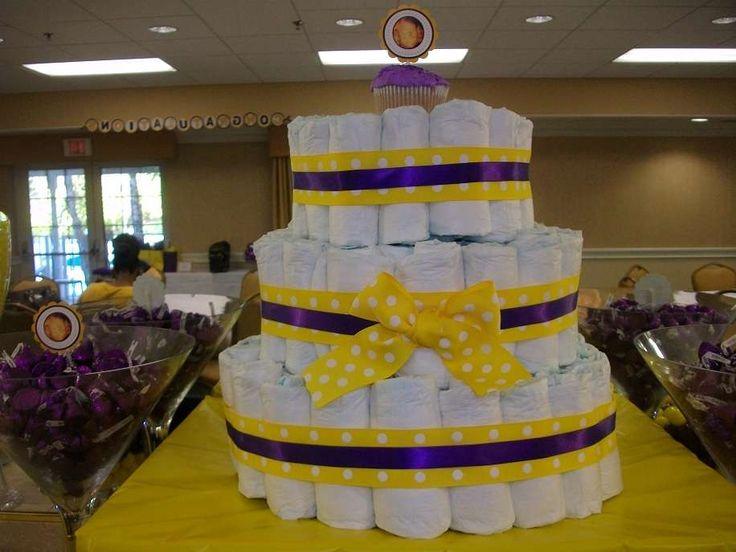 La Lakers Purple Amp Gold Baby Shower Party Ideas Photos