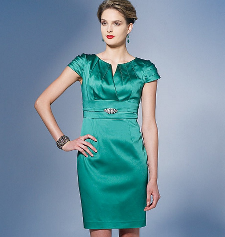 Vogue - 1271. Would remove sleeves and perhaps change skirt