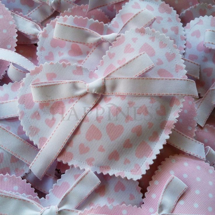 A heart for a princess? A beatiful handmade heart baptismal favor (bomboniera) fit for a princess. These can be tailored to your desires from a large collection of fabrics.   #bomboniera #christening #baptismfavor #baptism.  For more info: www.myhappiness.gr
