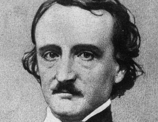 Edgar Allan Poe split his pants playing leapfrog with his wife.