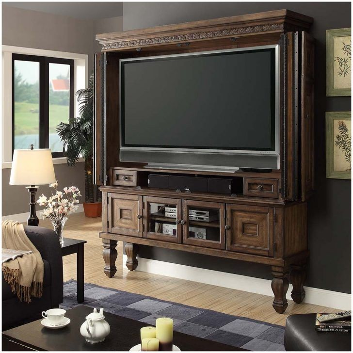 Entertainment Centers Armoires For Flat Screen Tvs Aria 75 Tv Armoire In Plans Wall Units