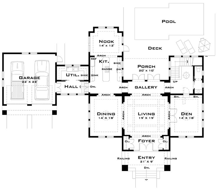45 best future bed and breakfast ideas images on pinterest - Bed and breakfast design floor plans ...
