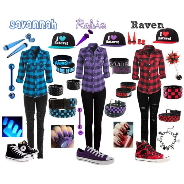 """""""Untitled #35"""" by poison-kisses on Polyvore...idk what these names are and can't stand the hats but super cute outfits!"""