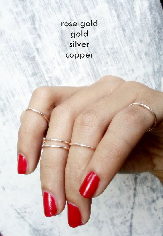 222 best Mid Rings images on Pinterest