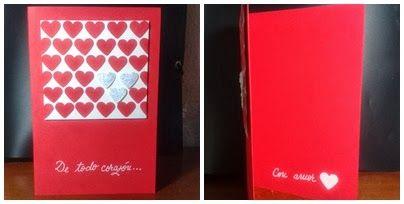 Valentine´s Day Handmade Card