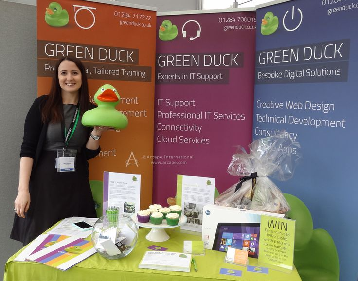Great to meet the Green Duck team!