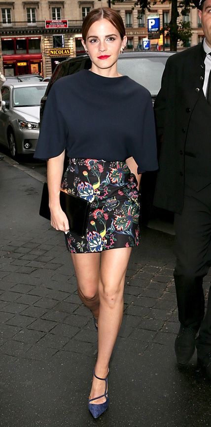 Look of the Day - July 8, 2014 - Emma Watson in Dior from #InStyle