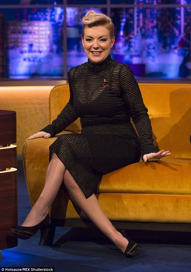 Speaking out: Sheridan Smith admitted during an appearance on The Jonathan Ross Show that she's a bit of a 'workaholic' and that it impacts her love life