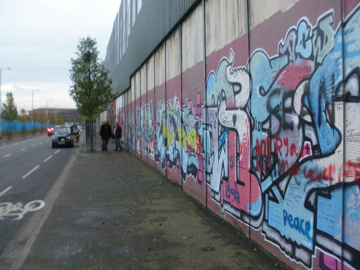 The Mural Wall - Belfast