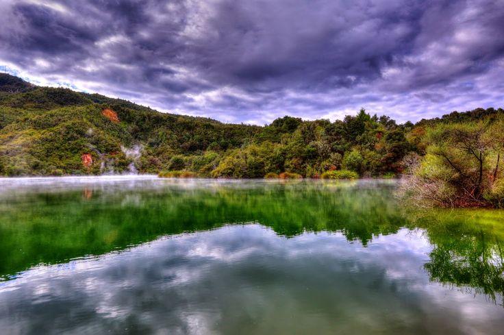 Thermal Green Lake - Rotorua