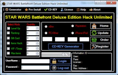 Star Wars Battlefront hack, Star Wars Battlefront engaño, Star Wars Battlefront cómo hackear, Star Wars Battlefront astuce, Star Wars Battlefront truco, Star Wars Battlefront trucchi, Star Wars Battlefront pirata piratería Star Wars Battlefront, Star Wars Battlefront Triche