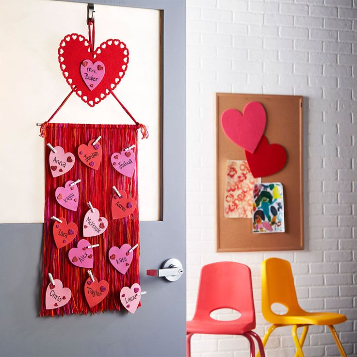 Diy Gift Idea Day Teacher Home Art Decor: Decorate For Valentine's Day With This Easy DIY Teacher's