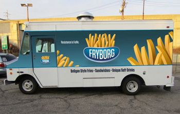 French Fry Food Truck For Sale