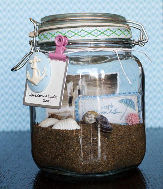 Vacation Memory Jar