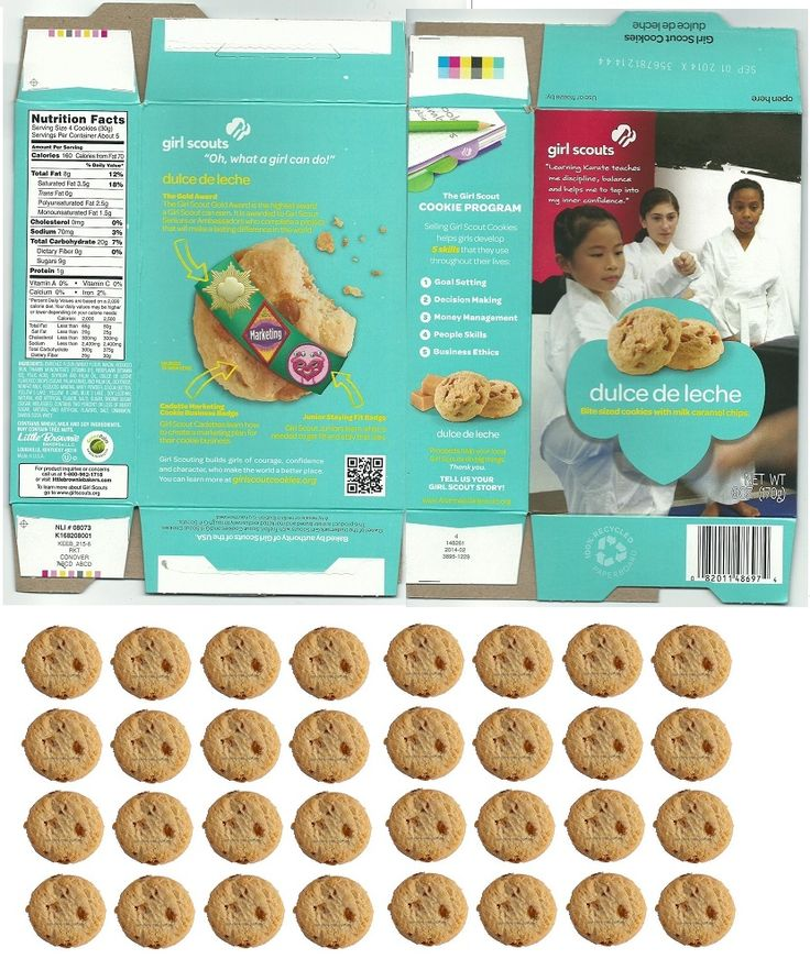 american girl sized girl scout cookies and boxes kids