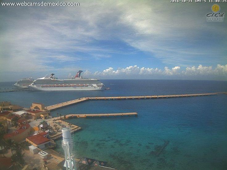 Веб камера Мексики, остров Косумель | 🎥 Веб камеры онлайн
