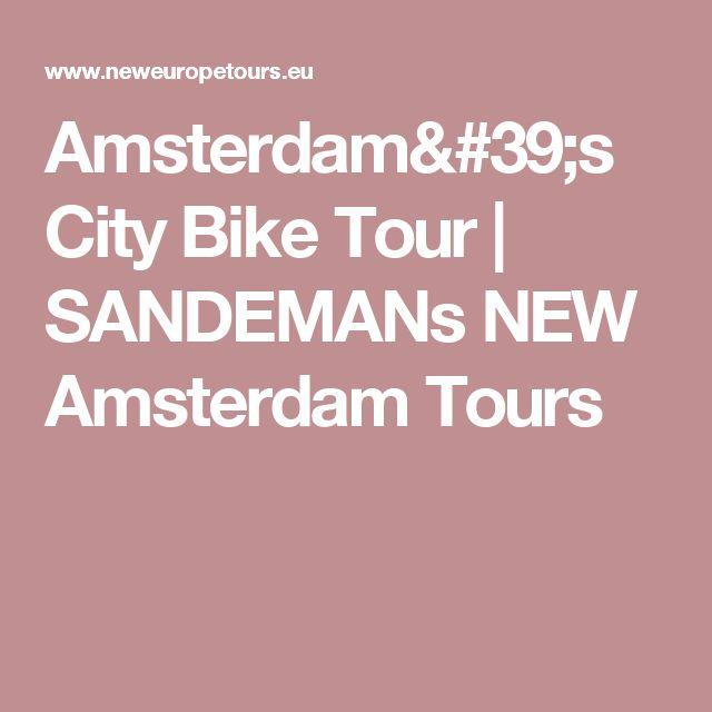 Amsterdam's City Bike Tour | SANDEMANs NEW Amsterdam Tours