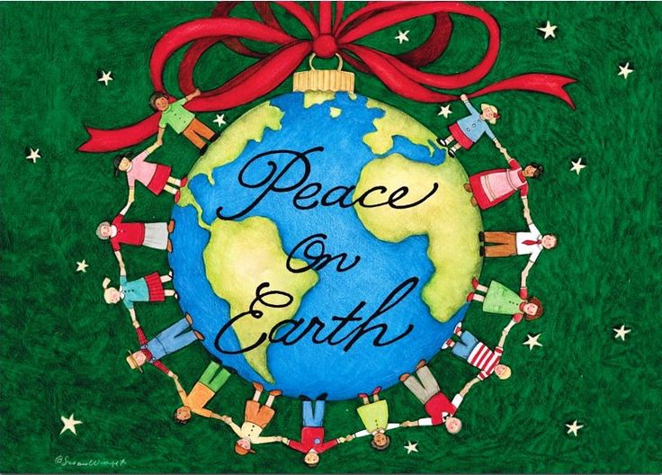 "~Let there be Peace on Earth~ Luke 2:14 NLT ""Glory to God in highest heaven, and peace on earth to those with whom God is pleased."""