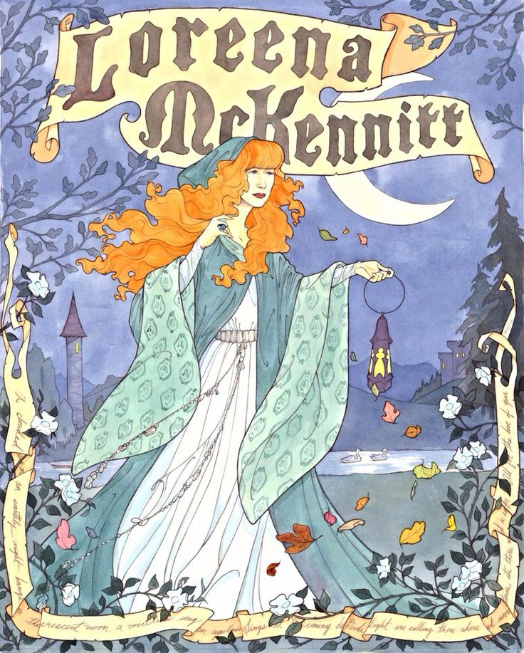Loreena McKennitt by Maryanneleslie on deviantART